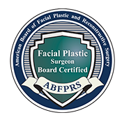 board certified facial plastic surgeon