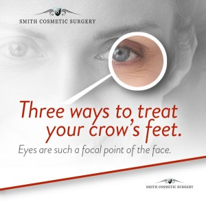 crow's feet facial surgery