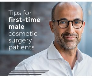 tips for first-time male facial cosmetic surgery patients