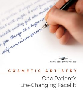 cosmetic artistry : One Patient's Take on a Life-Changing Facelift